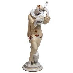 Rosenthal Pierrot Ash Wednesday Aschermittwoch Max Valentin Germany Made 1928