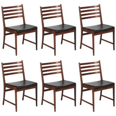 Kai Lyngfeldt Larsen Set of Six Dining Chairs