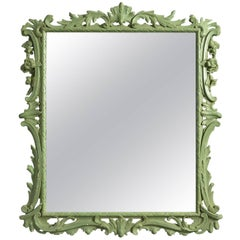 Early George III Painted Mirror