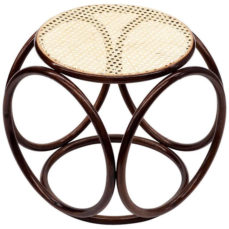 Thonet Bentwood Stool At 1stdibs