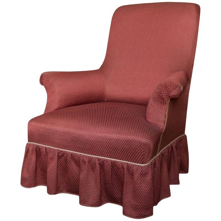 Napoleon III Armchair For Sale