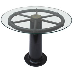 Ship's Wheel Table