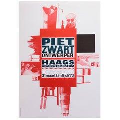 Piet Zwart Exhibition Poster