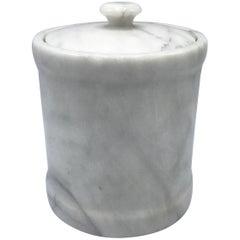 1960s Italian Marble Ice Bucket Wine Chiller