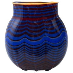 Vase Dale Chihuly, 1993 Toppiece, Unique, Signed