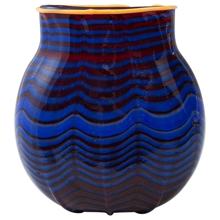 Vase Dale Chihuly, 1993 Toppiece, Unique, Signed For Sale