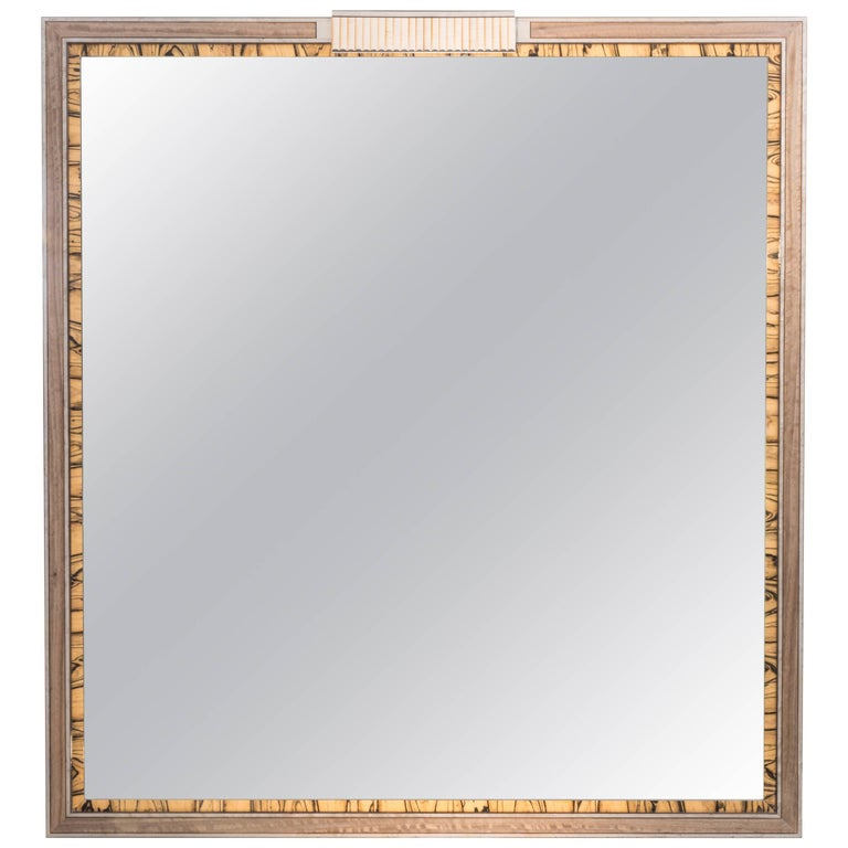 Silver Maple Excelsior Mirror