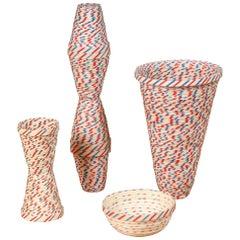 Nesting Straw Baskets by Karyl Sisson