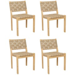 Four Alvar Aalto 900 series Dining Chairs
