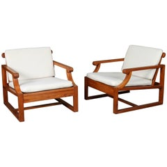 Kipp Stewart Caramel by the Sea Lounge Chairs