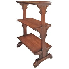 Arts & Crafts Library or Music Stand Attributed to Charles Lock Eastlake