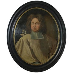 Large 18th Century, French Oil Portrait