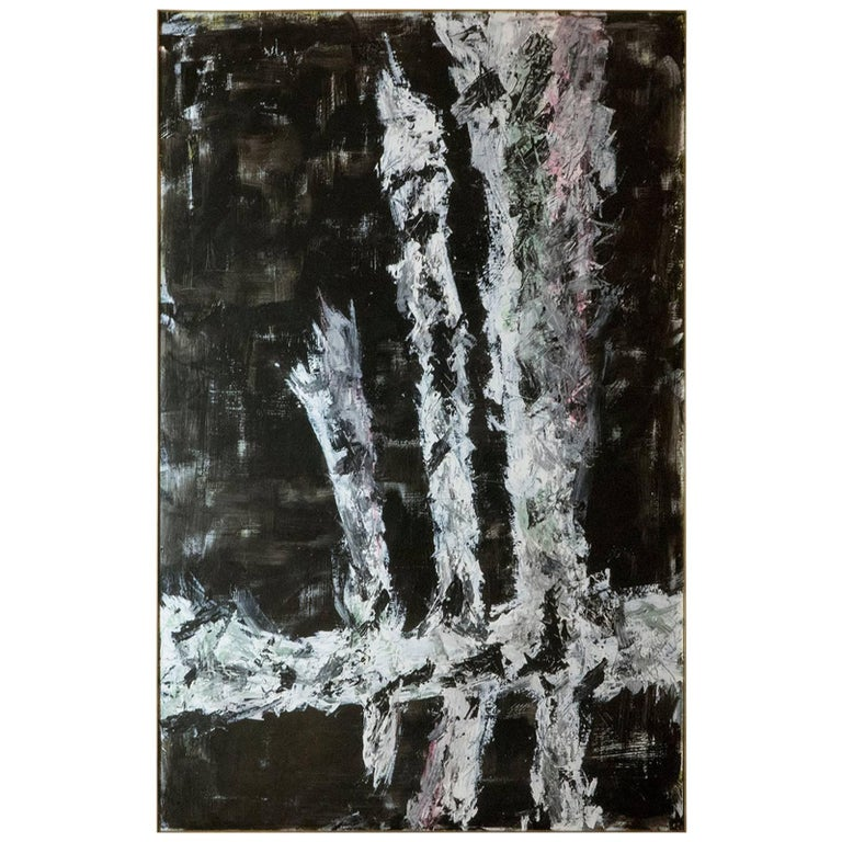 """Marco Croce """"Untitled"""" Abstract Painting"""