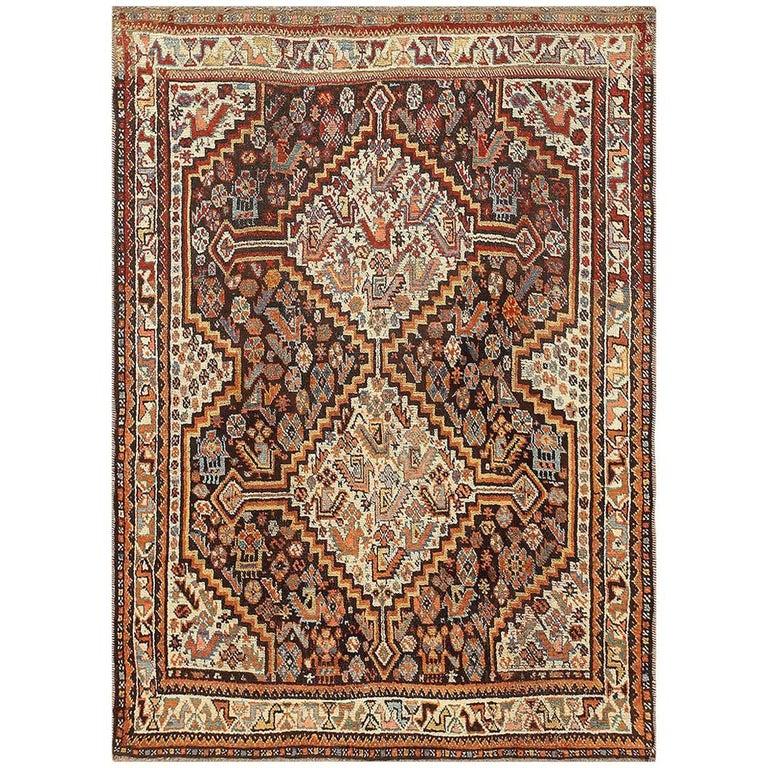 Antique Ghashgai Persian Rug