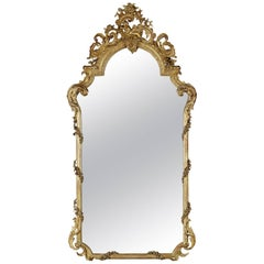 Louis XV Style Giltwood Mirror, French, circa 1870
