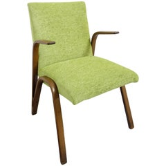 Paul Bode Chair from 1955 in Fresh New Green Upholstery
