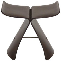 "Original Rosewood ""Butterfly"" Stool Designed by Sori Yanagi, circa 1950, Japan"