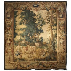 Rare 17th Century Brussels Tapestry by Ian Van Leefdael