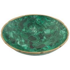 Bowl in Malachite