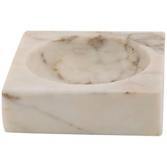 Large Marble Ashtray from Italy