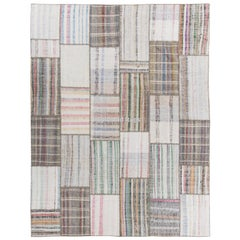 Patchwork Rug Made from Assorted Vintage Kilims