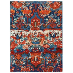 Antique Caucasian Seychour Rug