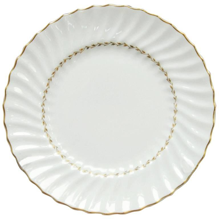 Set of 12 Royal Doulton English Porcelain Adrian Dinner Plates For Sale  sc 1 st  1stDibs : pictures of dinner plates - pezcame.com
