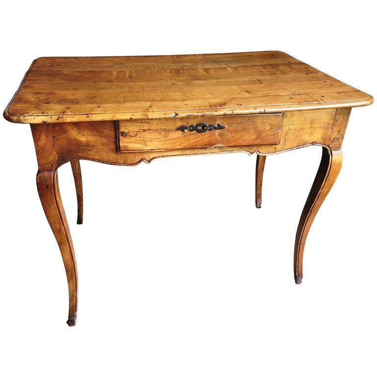 Louis XV Period Fruit-Wood Side Table