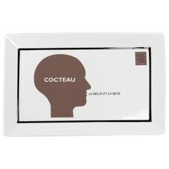 """Nicola L. La Belle Et La Bete """"Cocteau"""" Ceramic Tray"""