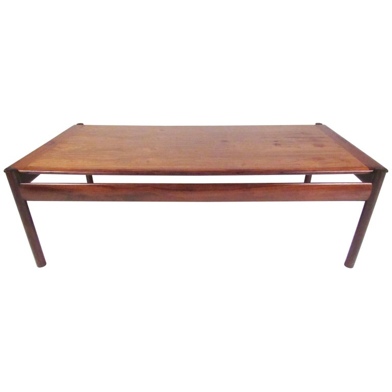 Mid-Century Modern Rosewood Coffee Table by Sven Ivar Dysthe