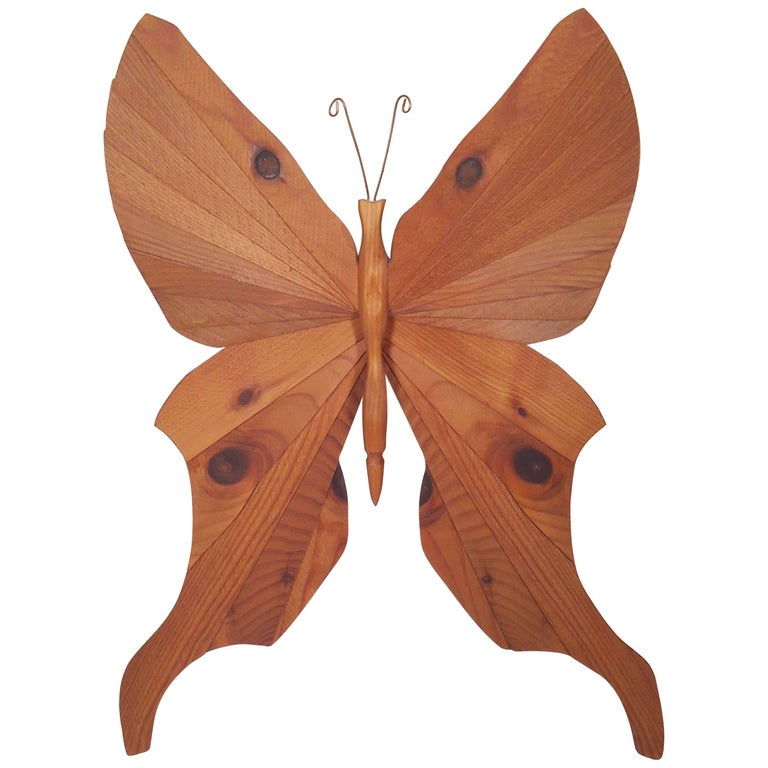 Butterfly Wall Art Signed