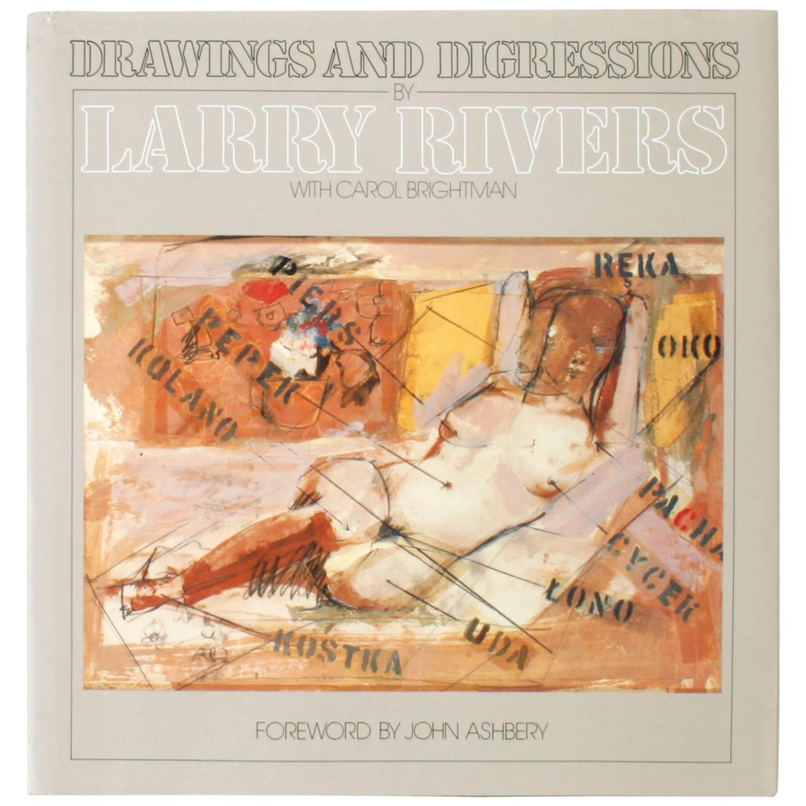 Drawings and Digressions by Larry Rivers, First Edition
