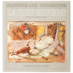 Drawings and Digressions by Larry Rivers. First Edition