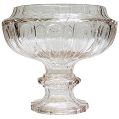 Antique French Baccarat Crystal Centrepiece