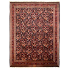 Early 20th Century Antique Persian Farahan Rug