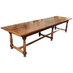 Grand, 19th Century Country French Dining Table