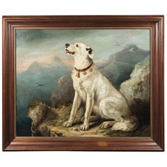 Massive, 19th Century Dog Portrait