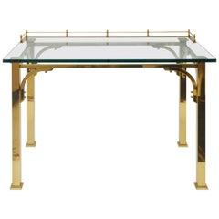 LaBarge Brass Desk or Vanity