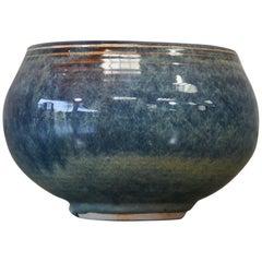 Vivika and Otto Heino Blue Glazed Bowl