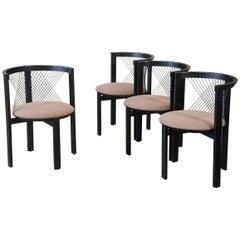 Set of Four Niels Jorgen Haugesen String Chairs