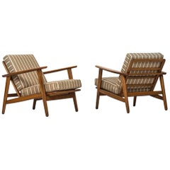 Hans Wegner Easy Chairs Model GE-233 by GETAMA in Denmark