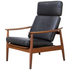 1960s Arne Vodder FD-164 Easy Chair Fauteuil for France & Son