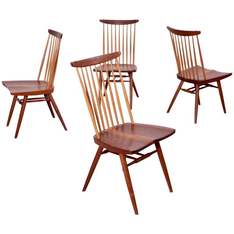 Set of Four George Nakashima, New Chairs