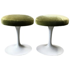 Set of Two Eero Saarinen Tulip Stools