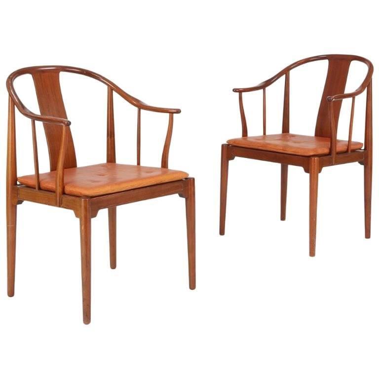 """China Chair"" Hans J. Wegner for Fritz Hansen, 1966"