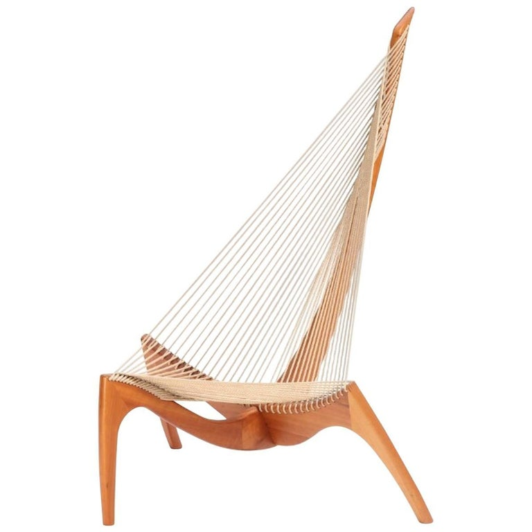 """The Harp Chair"" Jørgen Høvelskov For Sale"