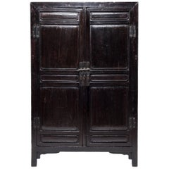 Chinese Two-Door Lacquered Cabinet