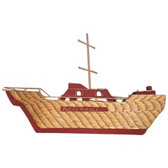 Folk Art Ship from World War-II