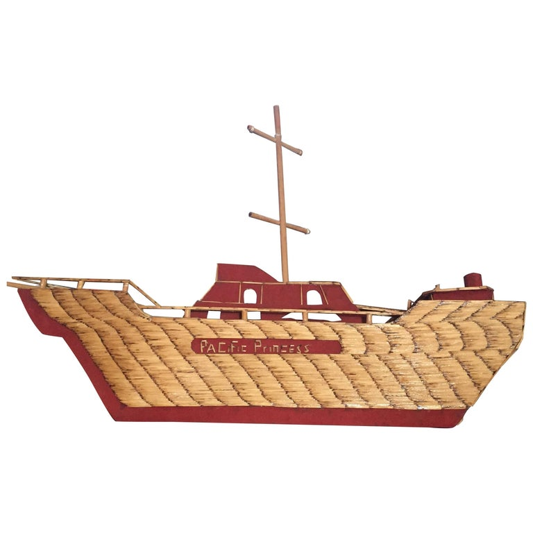 Folk Art Ship from World War-II 1