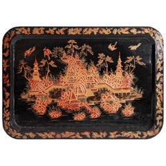 Vintage Lacquer Tray
